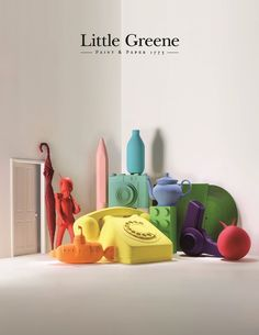 Little Greene paint. Paints are well packed. A great premium paint for any interior. Little Greene Paint Company, Little Greene Farbe, Luxury Wallpaper, Painted Paper, Colorful Wallpaper, Interior Paint, Interior Design, Rainbow Colors, Color Inspiration