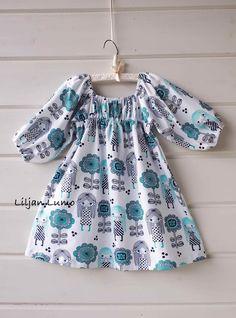 Liljan Lumo: Paratiisi Maija -empiremekko Kids Outfits, Rompers, Sewing, Blouse, Clothes, Tops, Dresses, Women, Fashion
