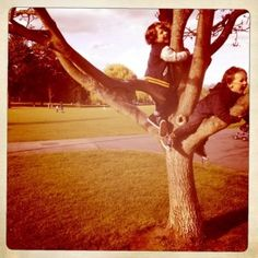 Joanna Burns was our final second place runner up, here is her fun filled photo, we want to be climbing trees!