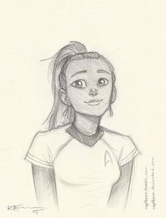For all trekkie fanart lovers go to CaptBexx on Deviantart.  No joke she is the bomb.  I use almost all of her pic's as screensaver for my iPad