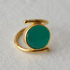 Chalcedony Pool Ring #anthroregistry