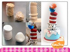 Cat in the Hat but with clay! Perfect for a little kid project!
