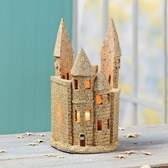 Sandcastle Candleholder - OrientalTrading.com
