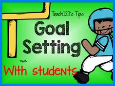 Goal Setting tips - helps with test prep. Great life skill. Includes FREE printable.