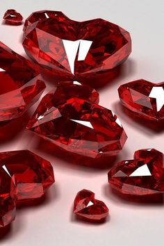 Ruby Gemstones Ruby hearts ♥♥♥♥ ❤ ❥❤ ❥❤ ❥♥♥♥♥ Do you like gemstone? Ruby Gemstones Flawed diamonds reveal the Wallpaper Iphone5, Lizzie Hearts, Red Hearts, Cool Winter, My Favorite Color, My Favorite Things, Simply Red, Lesage, I Love Heart