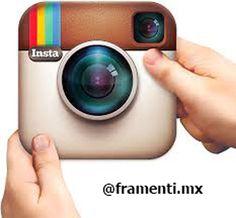 ¡ #FelizMartes ! Ya puedes empezar a seguirnos a través de #Instagram (@framenti.mx ) y recibir grandes sorpresas.