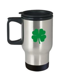 St Patrick's day mug - Distressed Irish Shamrock - Clover - ST Patricks Day Gift - Porcelain White Funny Travel Mug Coffee Cup Gifts 14 OZ Romantic Gifts For Husband, Best Gift For Wife, Birthday Gifts For Girlfriend, Christmas Gifts For Friends, Gifts For Coworkers, Irish Coffee Mugs, Coffee Cups, Toddler Gifts, Gifts For Kids