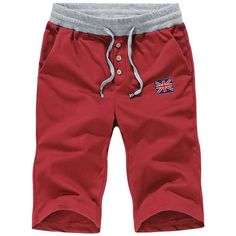 New Summer Mens Moletom Masculino Shorts 5XL Pocket Men's Shorts Elastic Waist Letter Emboridary Men Jogger Beach Shorts 2017