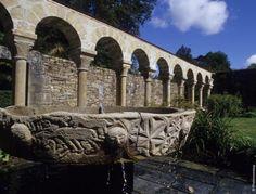 Abbaye de Daoulas, Finistère, France