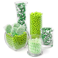 Green - Baby Shower Candy Buffet Kit - Baby Shower Candy | BigDotOfHappiness.com