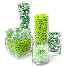 Green - Baby Shower Candy Buffet