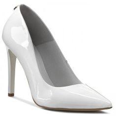 Tűsarkú R.POLAŃSKI - 0758 Biały Lakier Stiletto Heels, High Heels, Pumps, Shoes, Fashion, Moda, Zapatos, Shoes Outlet, Fashion Styles