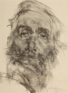 Nicolai Fechin, Lithographie - holy crap this artist is phenomenal! Portrait Au Crayon, L'art Du Portrait, Pencil Portrait, Life Drawing, Painting & Drawing, Drawing Eyes, Nicolai Fechin, Dynamic Painting, Academic Drawing