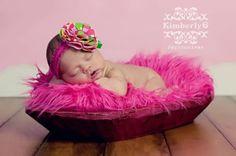 Baby Girl newborn pic idea
