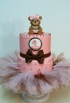 Girly Birthday Tutu Cake