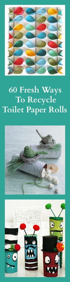 60 Fresh And Fun Ways To Recycle Toilet Paper Rolls (Diy Paper Roll)