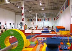 IGM Gymnastics - Open Gym, girls, boys gymnastics, artistic and rhythmic, tumbling and Zumba. Gymnastics Games, Toddler Gymnastics, Gymnastics Academy, Preschool Gymnastics, Gymnastics Skills, Artistic Gymnastics, Club Design, Gym Design, Parkour