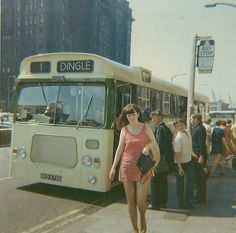 No 1 bus to Dingle, The Strand, Liverpool. Liverpool Town, Liverpool Docks, Liverpool History, Liverpool England, James Bond Movie Posters, Funny Pictures Of Women, 60s And 70s Fashion, Cigarette Brands, Mod Girl