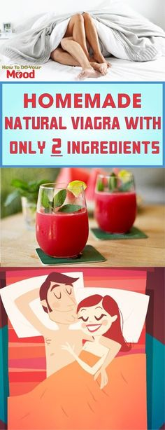 Homemade Natural Viagra With Only 2 Ingredients #homemade #homemaderecipes #recipe #Viagra
