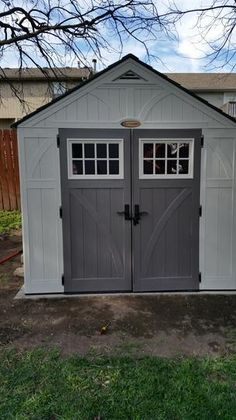 suncast tremont 8 ft 4 12 in x 10 ft 2 14 in resin storage shed - Garden Sheds 8 X 4