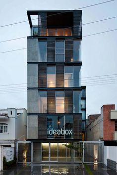 Las 10 obras ecuatorianas que van a la BIAU Cádiz 2012 (7) Edificio 03 98. Arquitectos: Joel Espinoza Carvajal y Santiago Espinoza Carvajal