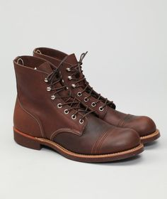 Red Wing 8111 Iron Ranger... the last pair of boots a man should ever have to buy