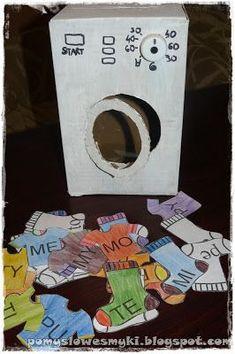 Inspiracje do wspólnych zabaw, łatwej edukacji oraz kreatywnych prac.Codzienność trójki smyków i ich mamy - rodzinne, zwariowane zabawy. Speech Language Therapy, Speech And Language, Mental Retardation, Polish Language, Learning Time, Alphabet Activities, Teaching Resources, Montessori, Classroom