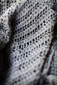 Curl from the upcoming book in a lovely cotton and alpaca blend from Manos del Uruguay