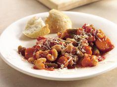 Slow Cooker Mediterranean Minestrone Casserole