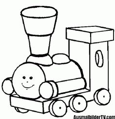 Railroad Coloring Page of a railroad crossing sign and