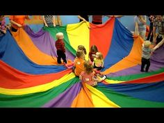 6 Different Parachute Activities for PE Class (Ep. 13 SuperChute Parachute) - YouTube