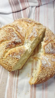 Bread Art, Greek Recipes, Brunch Recipes, Pancakes, Sandwiches, Recipies, Rolls, Cooking Recipes, Vegan