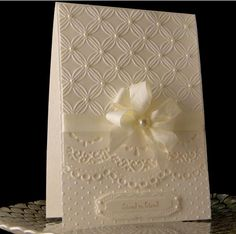 For Jo Ann by - Cards and Paper Crafts at Splitcoaststampers Wedding Cards Handmade, Greeting Cards Handmade, Pretty Cards, Love Cards, Spellbinders Cards, Embossed Cards, Wedding Anniversary Cards, Friendship Cards, Sympathy Cards
