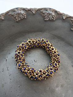 Crystal bead bracelet AB-kristallit - Helmien talo