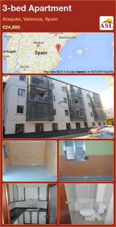 3-bed Apartment in Alaquàs, Valencia, Spain ►€24,800 #PropertyForSaleInSpain