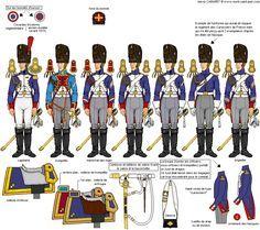 Napoleonic Grenadiers a Cheval uniforms
