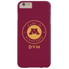 #gold - #College Of Veterinary Medicine | Gold DVM Logo Barely There iPhone 6 Plus Case
