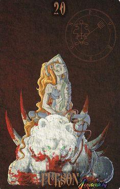 Пурсон - один из демонов - королей, мудрый и могучий, его власть - не в разрушении, но в знании, которое порождено пониманием. Пурсону подвластны силы природы