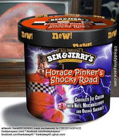 ben and jerrys halloween ice cream image search results Scary Movies, Horror Movies, Slasher Movies, Funny Horror, Ice Scream, Horror Themes, Horror Monsters, Weird Food, Ice Cream Flavors