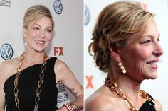 Tatum O'Neal's Formal Updo <br> Tatum O'Neal's loose bun is a great look for weddings and other formal events. Romantic Hairstyles, Chic Hairstyles, Wedding Hairstyles, Gorgeous Hairstyles, Belage Hair, Casual Wedding Hair, Hot Hair Styles, Cool Hair Color, Short Hair Cuts