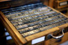 Lead type drawer