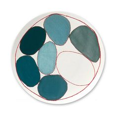 LACMA Store - Louise Bourgeois 'Blue Circles' Plate