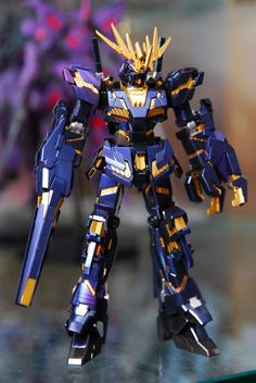 HGUC 1/144 RX-0 Unicorn Gundam 2 Banshee Painted Build by Nan Nei
