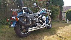 eBay: Harley Davidson Heritage Softail 13500 miles #harleydavidson