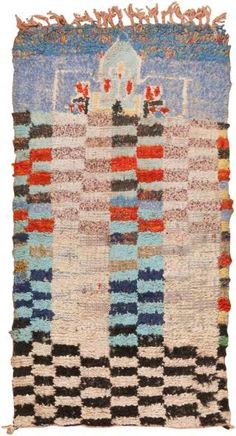 Mid 20th Century Vintage Moroccan Rug | Nazmiyal Collection #Rugs #Wishlist #Floors