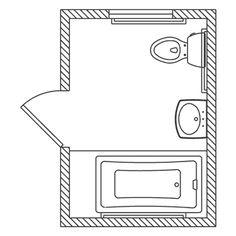 "Bathroom Layout Double Sink bathroom floorplan - 168 sq. ft. 12' 0"" w x 14' 0"" l | bathroom"