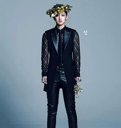 Shin Won Ho on Check it out! Shin Cross Gene, Legend Of Blue Sea, Boy Fashion, Fashion Outfits, Bae, Won Ho, Korean Star, Korean Bands, Black N White