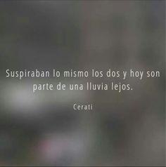 Adios - Gustavo Cerati Rock Quotes, Love Life Quotes, Care Quotes, Music Words, Music Lyrics, Music Quotes, Music Love, Good Music, Running In The Rain