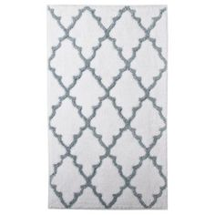 I Think I Want A Gray And White Bath Mat. This Is Supposedly From Target