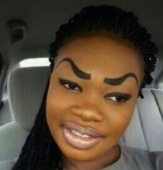 Funny eyebrow pictures